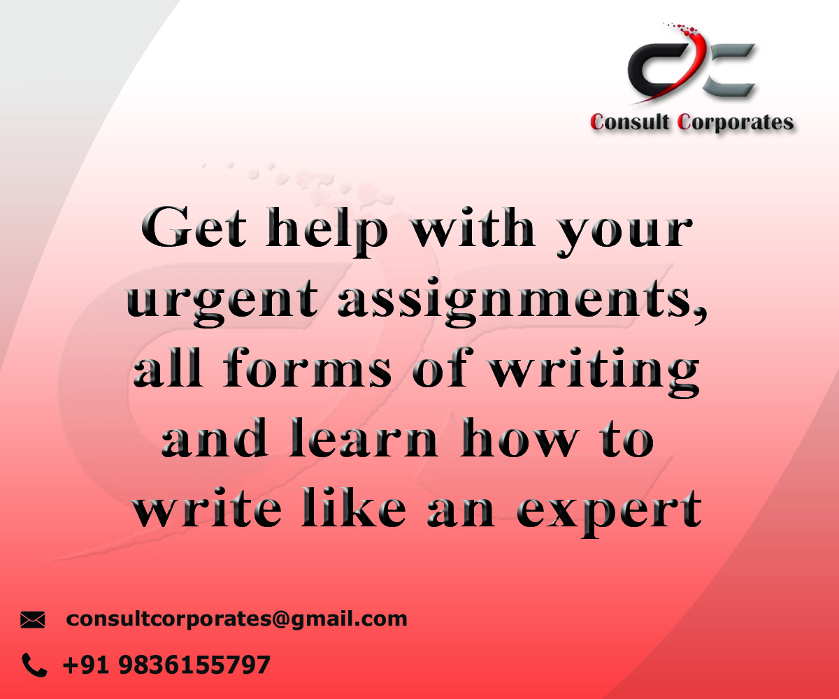 Assignment Help Consult Corporates